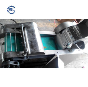 2018 hot sale green onion cutter/automatic pepper cutting machine / scallion slicing machine