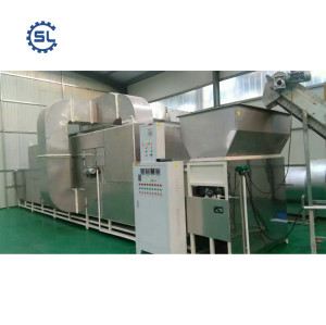 2018 China manufacturing groundnut roasting machine machine with best price