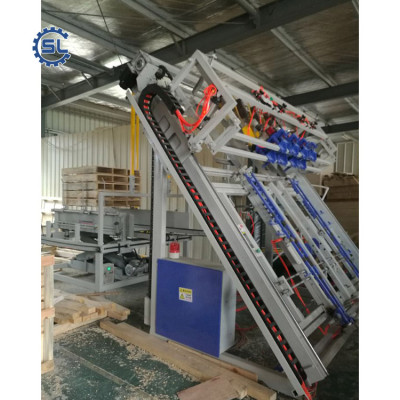 China manufacturing industrial excellent nail wood pallet making machine