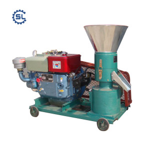 China manufacturer supply directly automatic wood pellet making machine/wood pellet mill