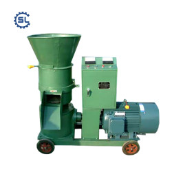 2018 New design automatic wood pellet making machine/wood pellet mill with reasonable price