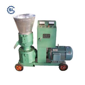 1-1.5 Ton/h flat die sawdust pellet production line/biomass pellet machine