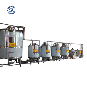 China manufacturer supply directly fresh dairy milk processing line with reasonable price