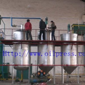factory price small scale crude oil refinery equipment