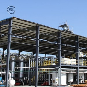 small automatic used cooking oil algae biodiesel plant