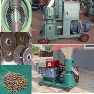 Flat die pellet machine for animal feedstuff 0086-15890067264