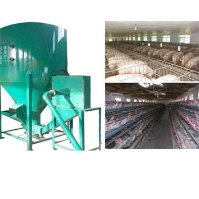 Animal feedstuff crushing and mixing machine 0086-15890067264
