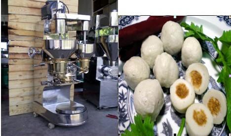 stuffed meatball forming machine