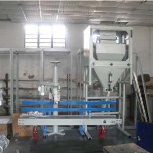 Automatic quantitative packaging  machine for grain
