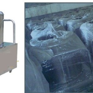potato washing and peeling machine