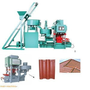 Maquina para hacer tejas
