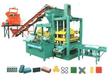 Linea de fabricación de bloques de Hormigón