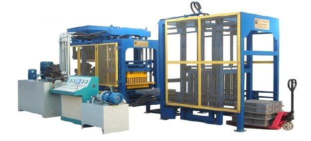 Linea de fabricación de bloques de Concreto