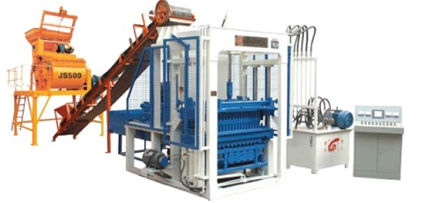 automatic block making line