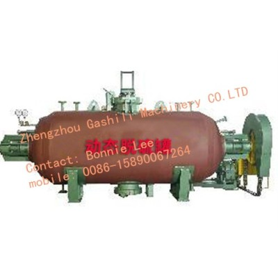 Reclaimed rubber producing equipment
