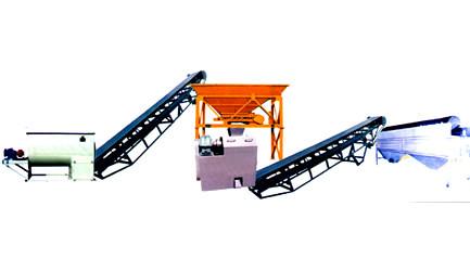 Linea de fabricación de compost NPK