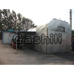 Waste rubber pyrolysis oil equipment