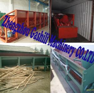 single roller wood debarker 0086-15890067264