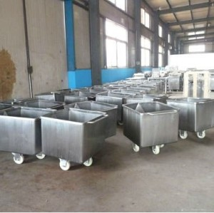 hopper trolley for meat  0086-15890067264