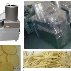 Potato Peeling and Chipping machine 0086-15890067264