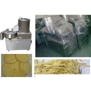 Potato Peeling and Chipping machine 0086-15890067264