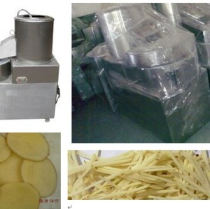 Potato Peeling and slicing machine 0086-15890067264