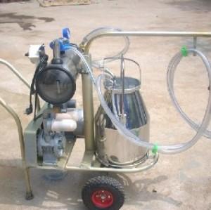 single barrel cow or goat  milking machine   0086-15890067264