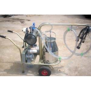 double barrel vacuum portable  milking machine   0086-15890067264