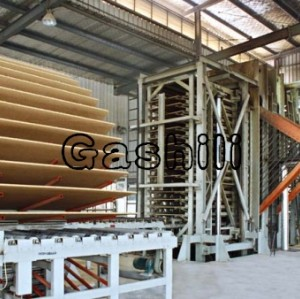 hot-selling chipboard hot press line  0086-15890067264