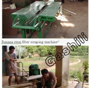 hot-selling  banana stem fiber extracting machine
