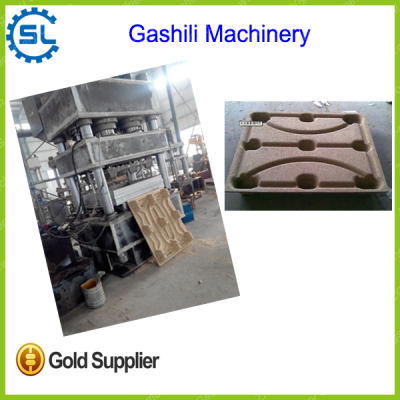 hydraulic compressed wood pallet moulding machine