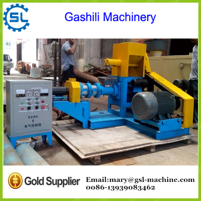 Industrial price good performance floating fish feed machine