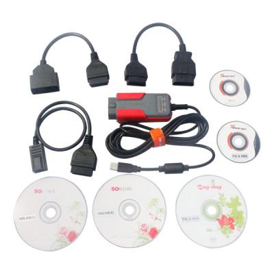 Auto diagnostic tools,MVCI Toyota TIS+Honda HDS+Volvo Dice