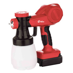 Cordless paint spray gun