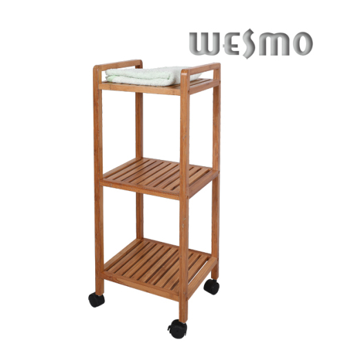 Bamboo+bathroom+trolley