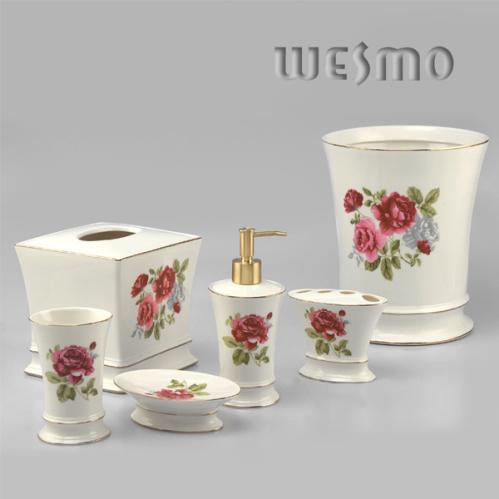 Set de baño de cerámica