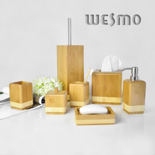 Set Salle De Bain En Bambou Accessoire De Salle Industries Wesmo Limit E