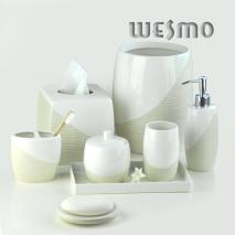 Porcelain Bathroom Set