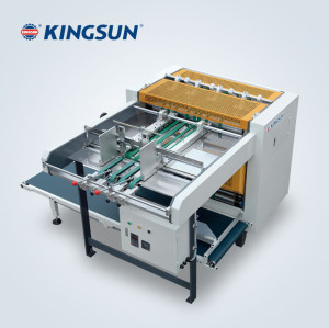 Automatic board grooving machine