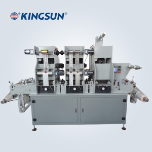 Label Hot Foil Stamping Die-cutting Machine