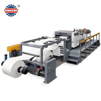 KS-1400A Servo control paper roll to sheet cutting machine