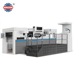MHK Automatic hot foil stamping and die cutting machine