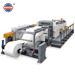 KSM  Servo Precision Double Helix High Speed Sheet Cutter Machine