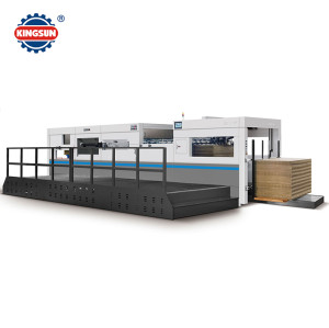 MHC-E Automaitc corrugated flat bed die cutting machine