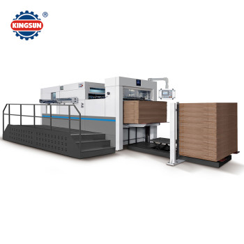 MHC-BL Semi Automatic Corrugated Flat Bed Die Cutting Machine