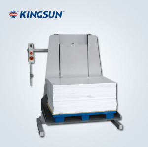 paper Lifter guillotine machine