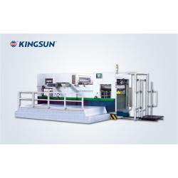 Máquina automática que corta con tintas de arrugamiento