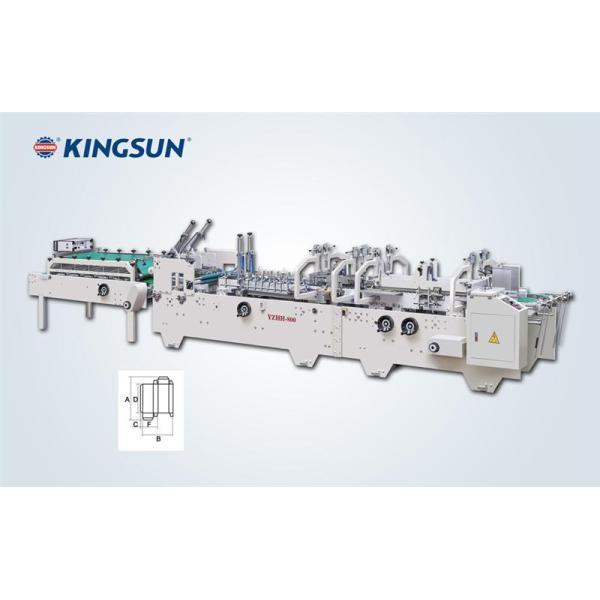 Máquina automática de pegamiento de cajas del tipo pre-plegado