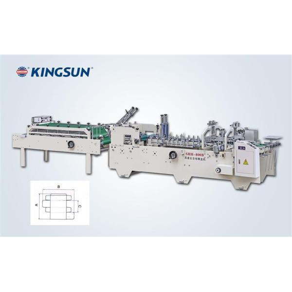 Máquina automática de pegamiento de cajas