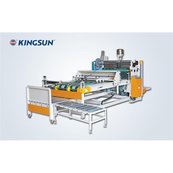 Máquina semi-automática de pegamiento de cajas